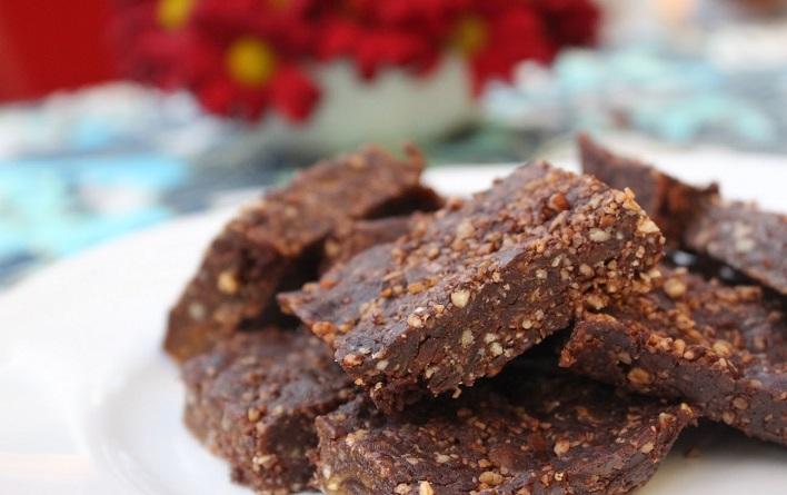 Barras Energéticas de Chocolate y Avena