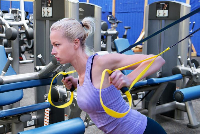 Suspensión TRX ejercicios para ganar fuerza y motivación