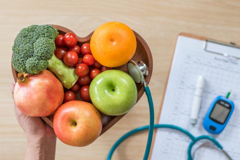 Diabetes: la muerte blanca usa la dieta de fibra